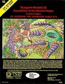 Cover of S3 Expedition to the Barrier Peaks