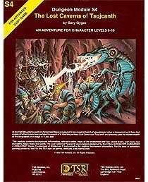 S4: The Lost Caverns of Tsojcanth (1e)
