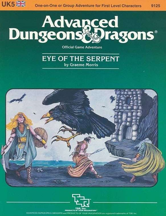 Cover of UK5 Eye of the Serpent