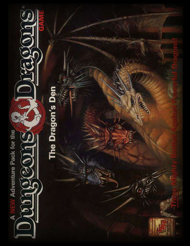 Cover of Wild Dragon Den