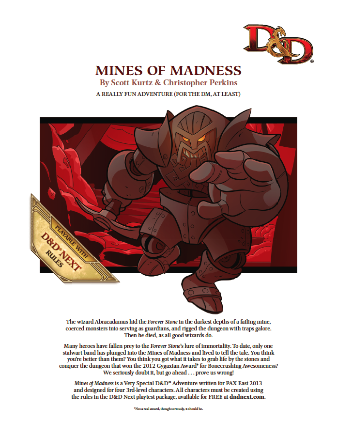 Cover of The Mines of Madness
