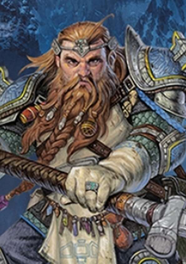 Pregen Characters: Dwarf Cleric (5e) - Wizards of the Coast