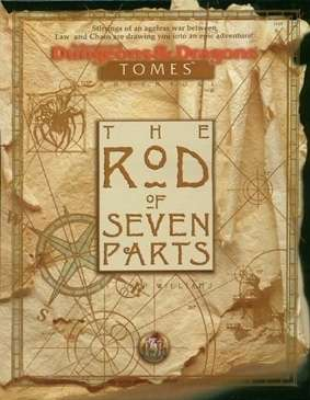 Cover of The Rod of Seven Parts