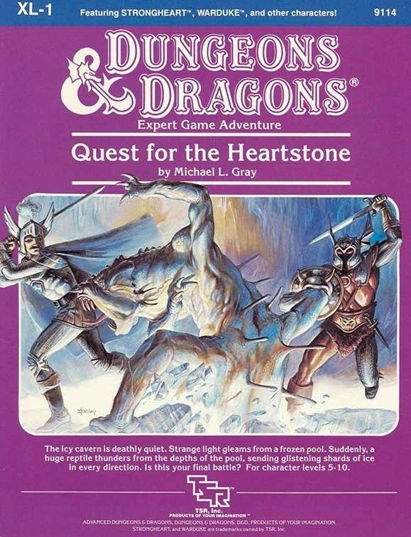 Xl1 quest for the heartstone expert wizards of the coast dd quick preview fandeluxe Epub