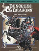 CM1 Test of the Warlords (Basic)