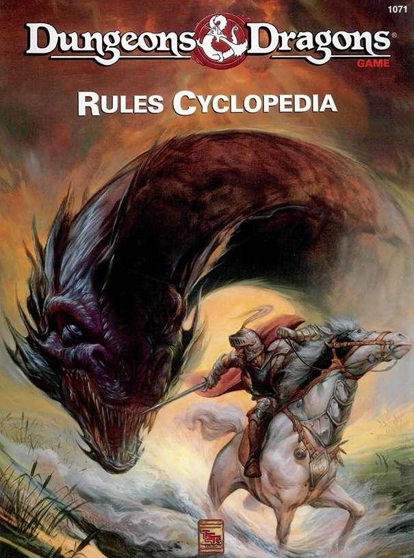 D D Rules Cyclopedia Basic Wizards Of The Coast D D Basic Player Dm Guides D D Basic Drivethrurpg Com