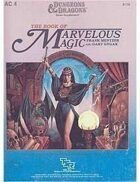 AC4 The Book of Marvelous Magic (Basic/1e)