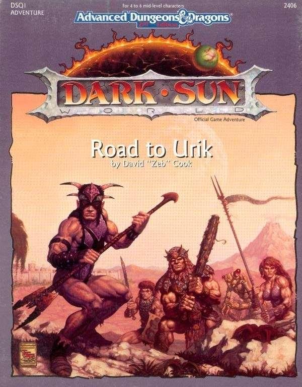 Cover of DSQ1 Road to Urik
