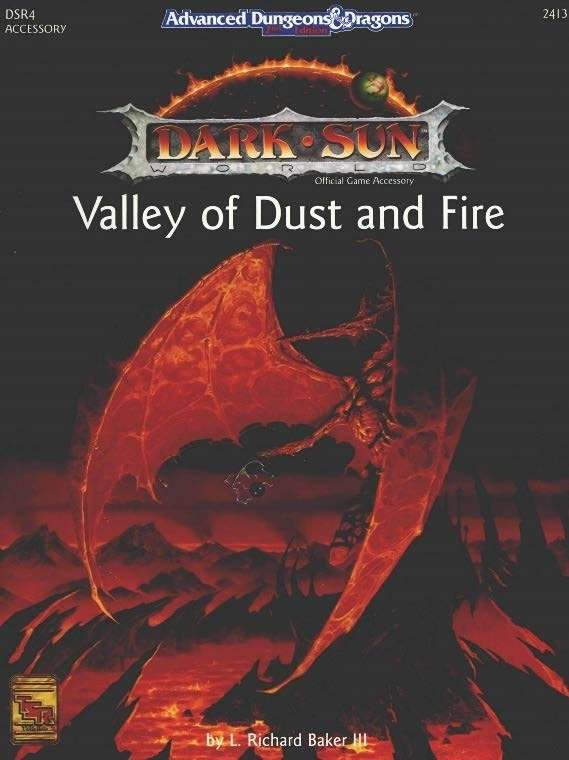 Cover of DSR4 Valley of Dust and Fire