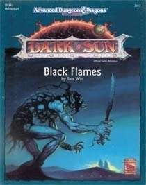 Cover of DSM1 Black Flames