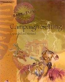 Dark Sun Campaign Setting Expanded And Revised Edition 2e