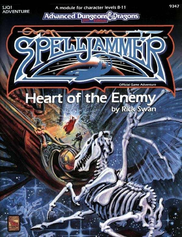 Cover of SJQ1 Heart of the Enemy