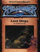 SJR1 Lost Ships (2e)