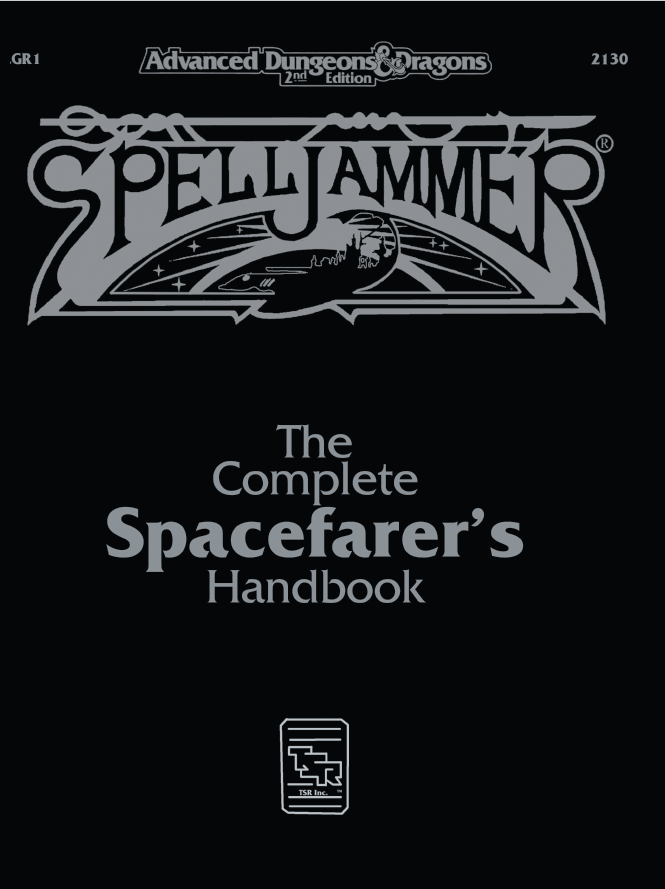 CGR1 The Complete Spacefarers Handbook (2e)