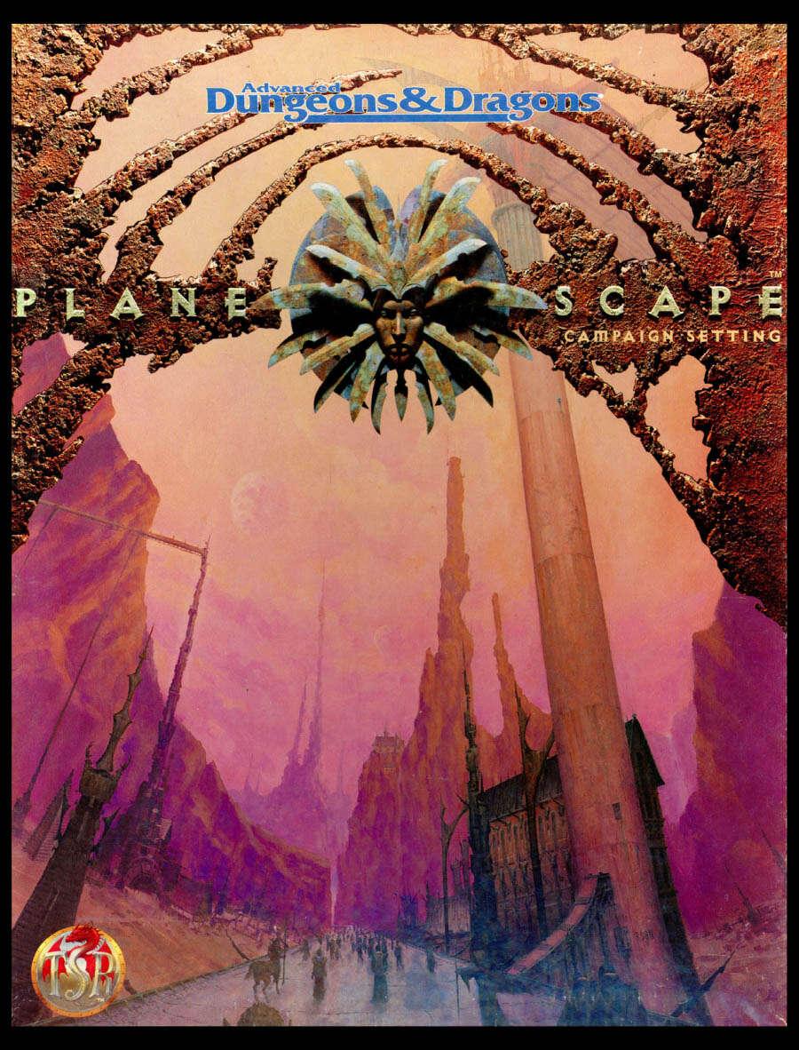 Planescape Campaign Setting cover