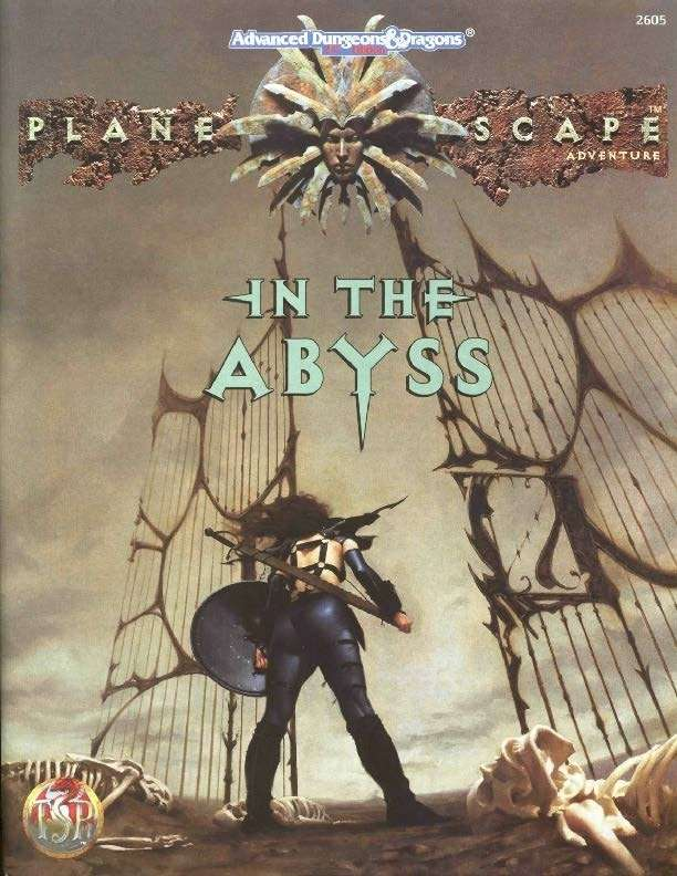In the Abyss Cover