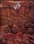 The Factol's Manifesto (2e)