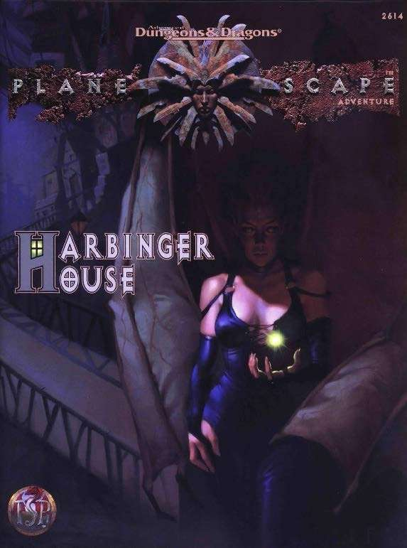 Cover of Harbinger House
