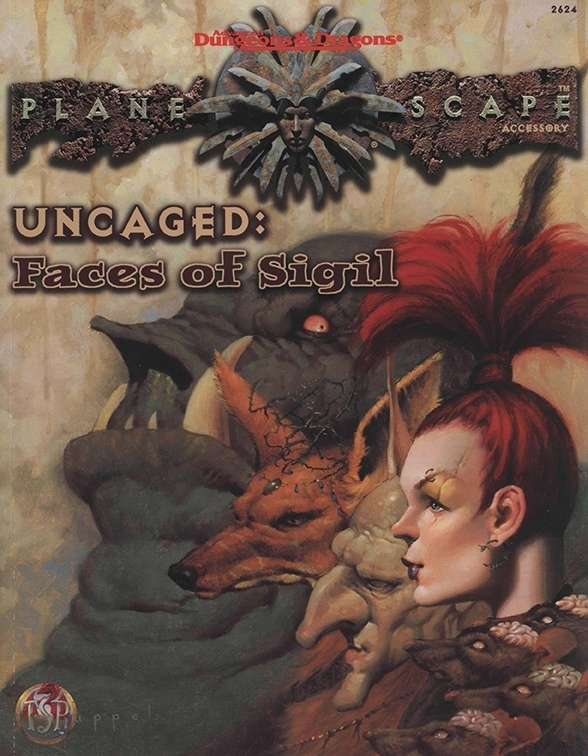 Uncaged: Faces of Sigil Cover