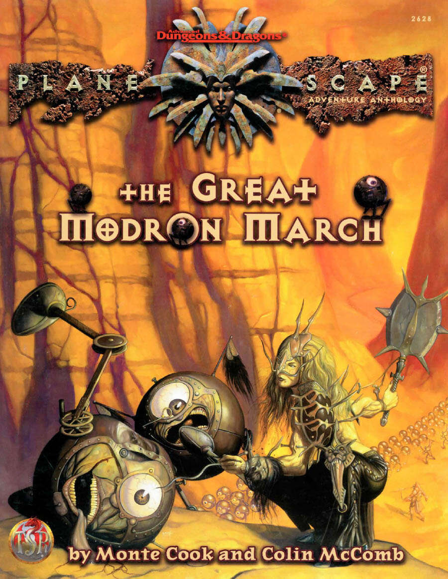 The Great Modron March Cover