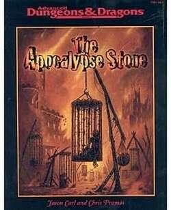 Cover of The Apocalypse Stone