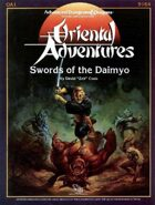 OA1 Swords of the Daimyo (1e)