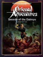 OA1 Swords of the Daimyo (1e)