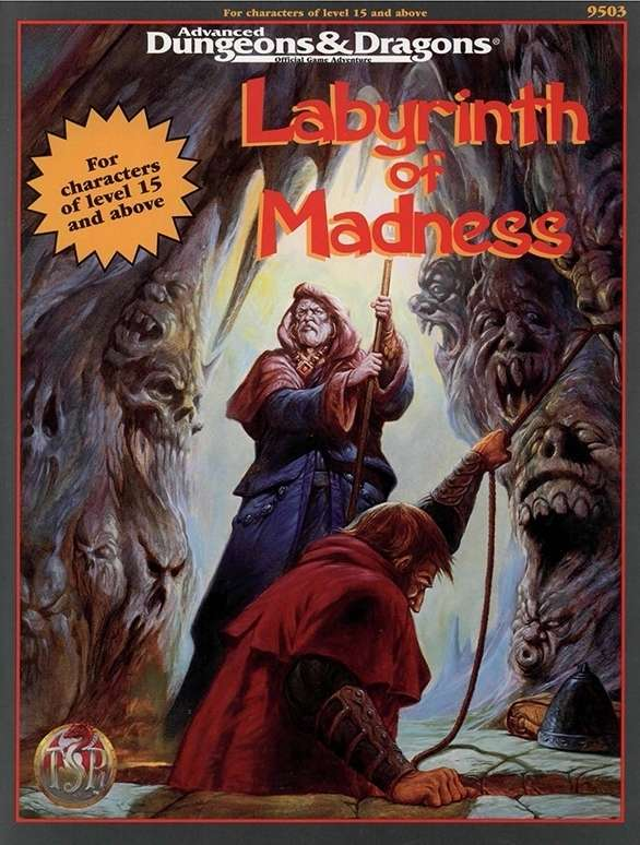 Cover of S6 Labyrinth of Madness