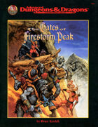 The Gates of Firestorm Peak (2e)
