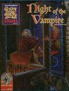 Night of the Vampire (2e)