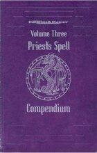 Priest's Spell Compendium Vol 3 (2e)