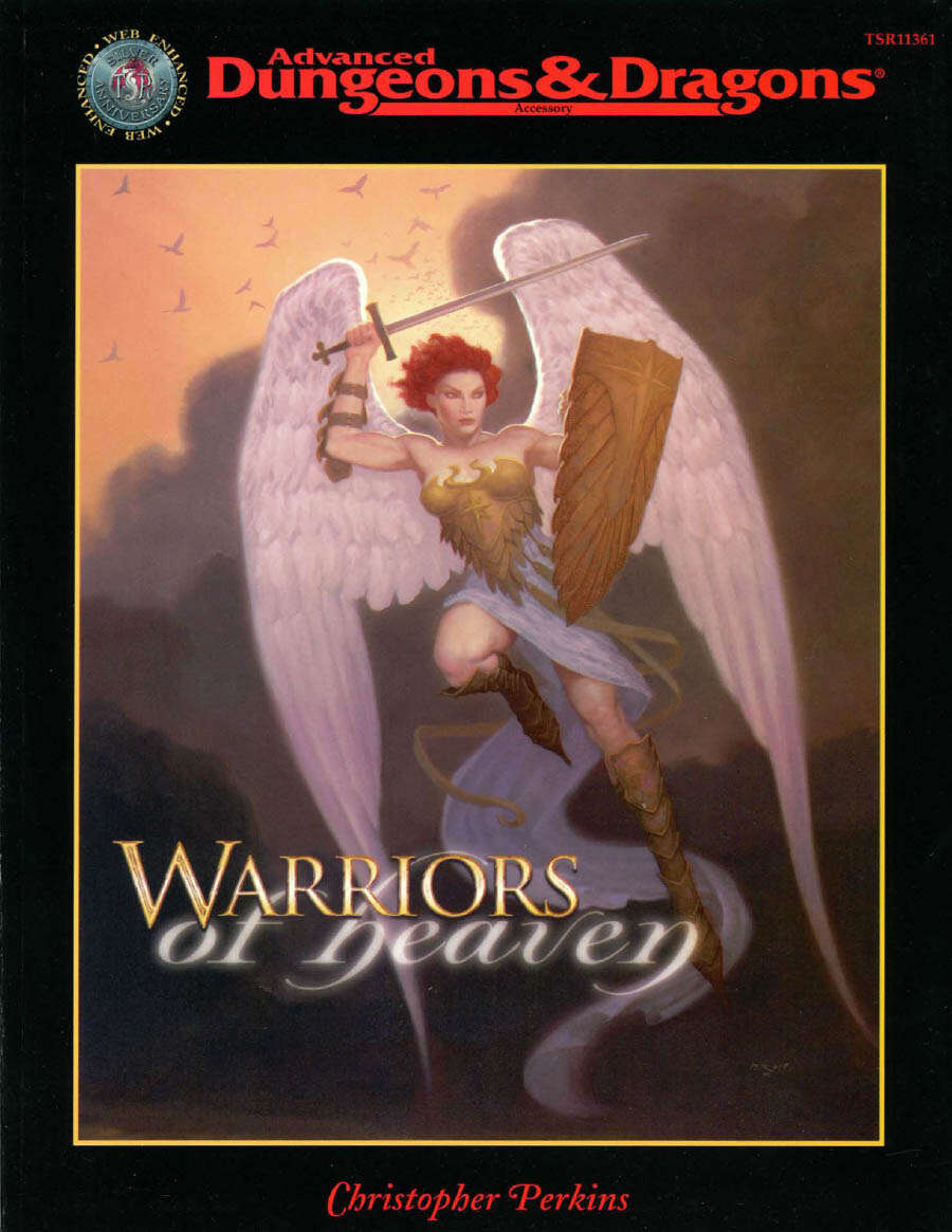 Warriors of Heaven (Servants of Light: The Celestials) Cover