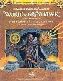 Cover of WG5 Mordenkainen's Fantastic Adventure