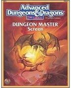 2nd Edition AD&D Dungeon Master's Screen