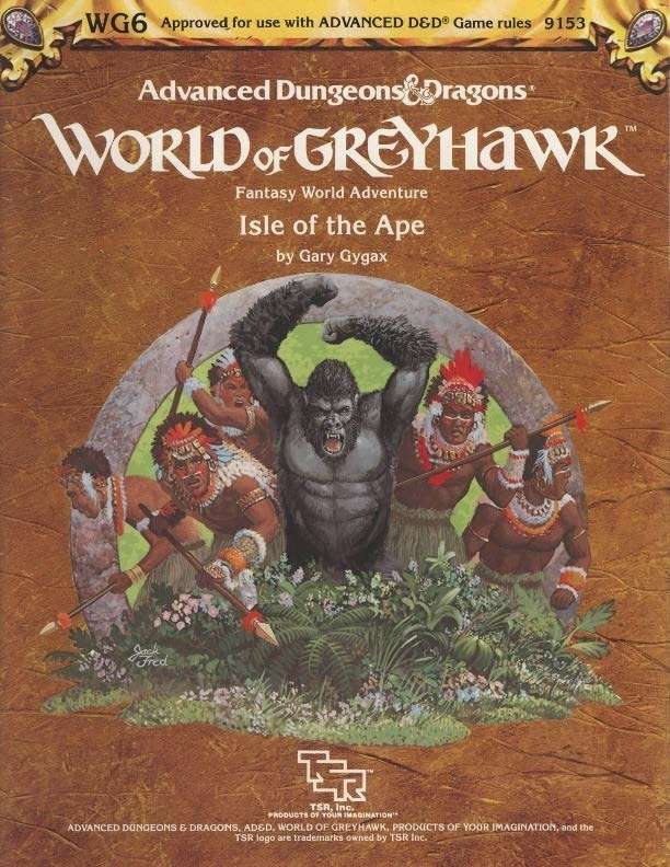 Cover of WG6 - Isle of the Ape