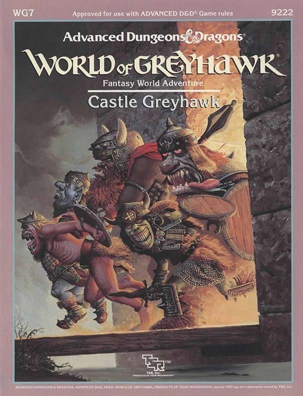 Cover of WG7 Castle Greyhawk