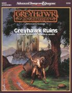 WGR1 Greyhawk Ruins (2e)