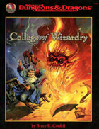 College of Wizardry (2e)