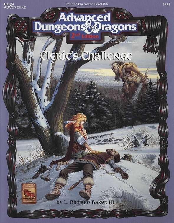 Cover of HHQ4 Cleric's Challenge