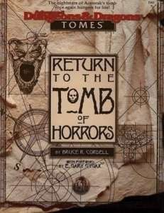 Cover of Return to the Tomb of Horrors