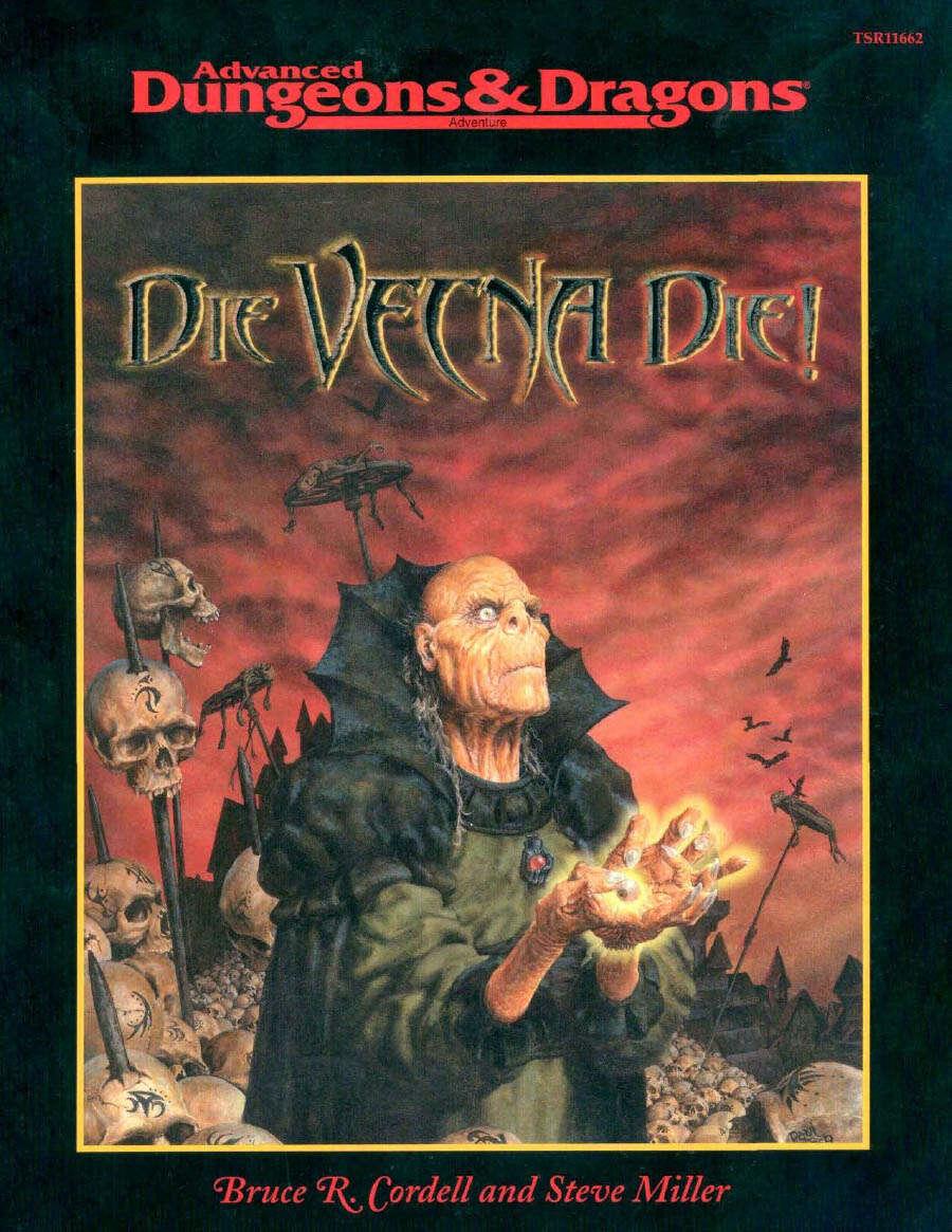 Die, Vecna, Die Cover