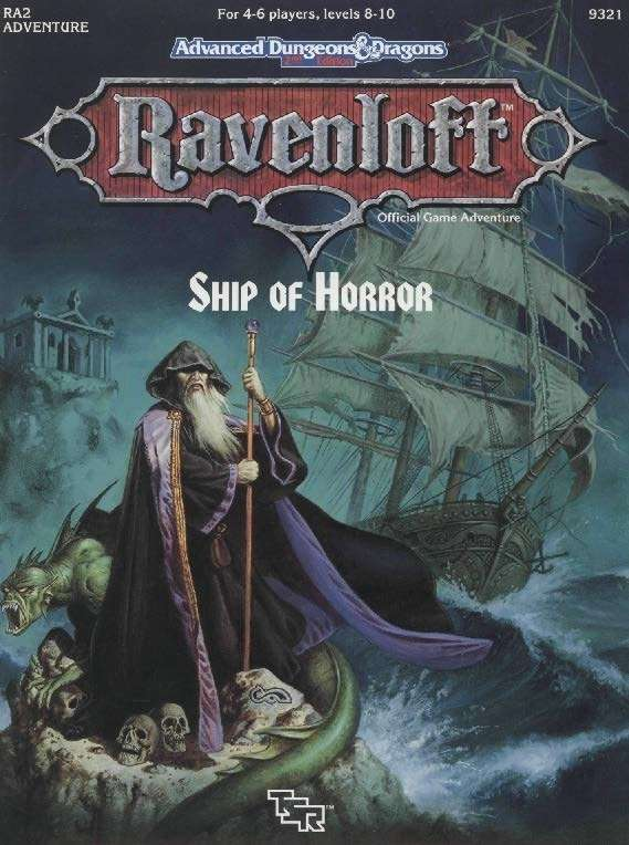 Cover of RA2 Ship of Horror