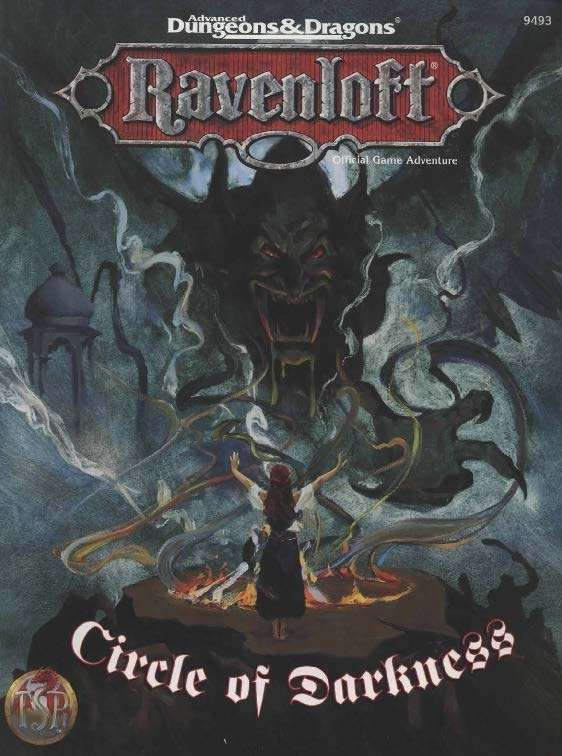 Cover of Circle of Darkness