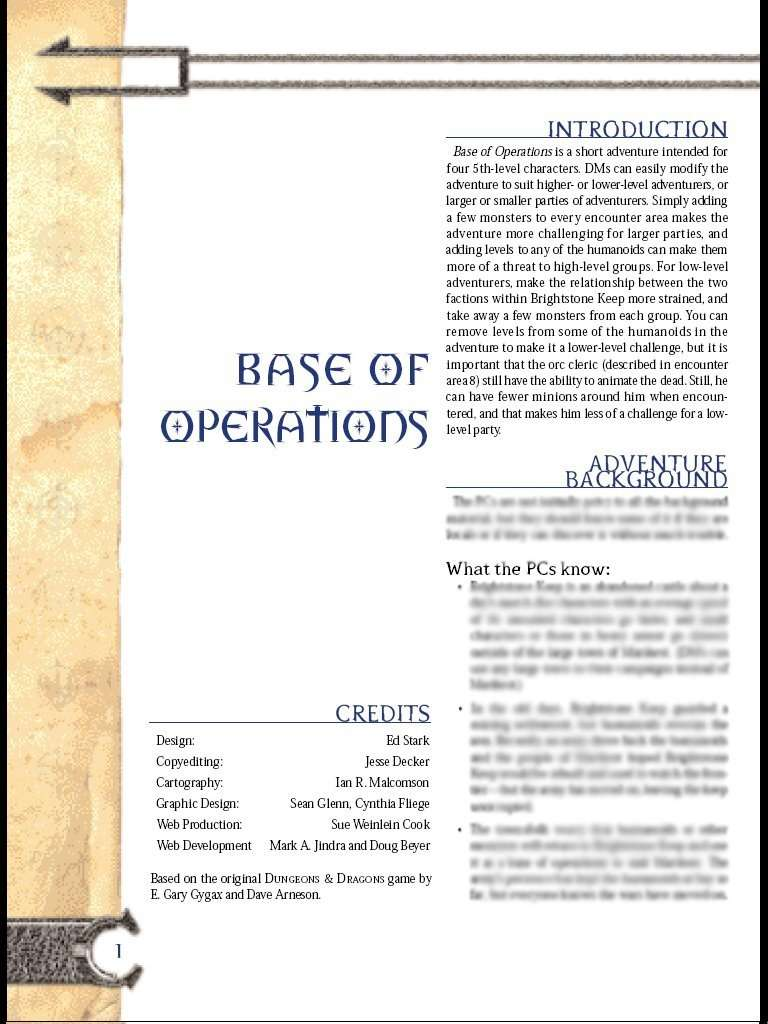 Cover of Base of Operations