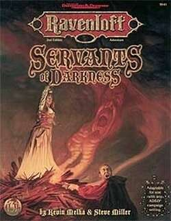 Cover of Servants of Darkness