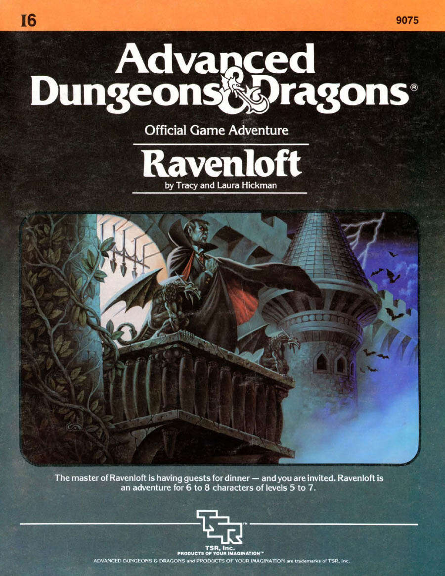 Cover of I6 Ravenloft