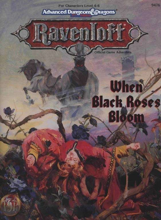 Cover of When Black Roses Bloom