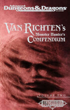 Van Richten's Monster Hunter's Compendium, Vol 2 (2e)