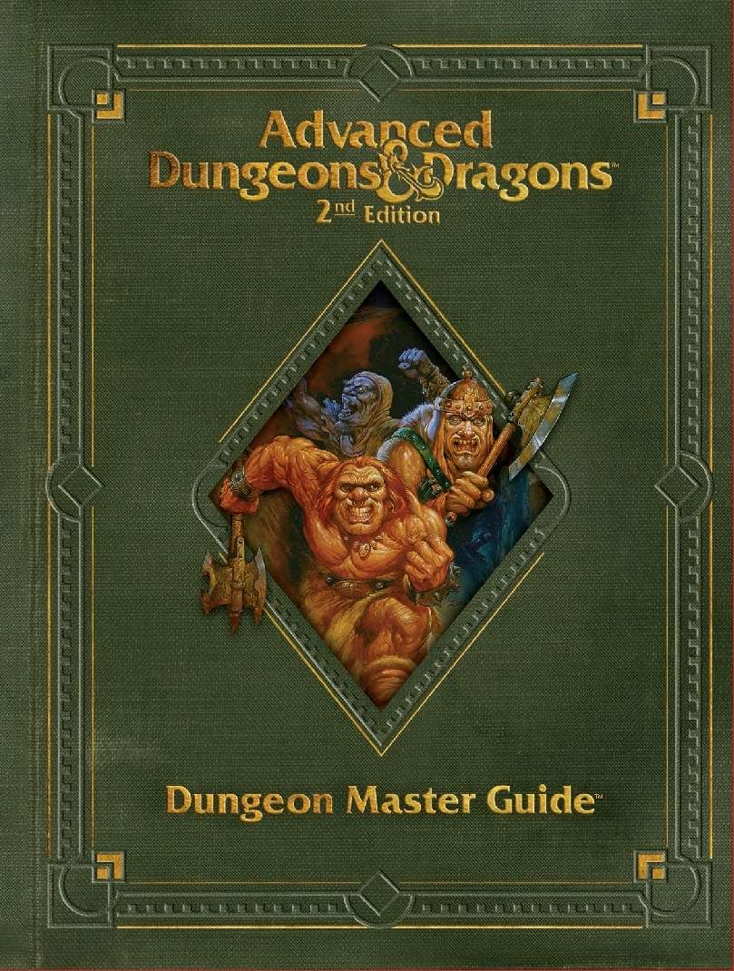 Dungeon Master Guide, Revised (2e) - Wizards of the Coast | AD&D 2nd Ed. |  Rules | AD&D 2nd Ed. | DriveThruRPG.com