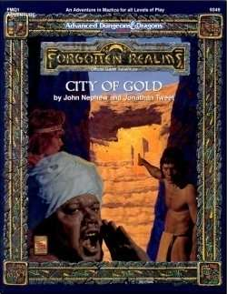 FMQ1 City of Gold (2e) - Wizards of the Coast | Forgotten